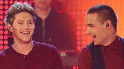 Los excomponentes de One Direction Niall Horan y Liam Payne se reencuentran en un concierto en Indiana