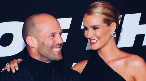 Rosie Huntington y Jason Statham han sido padres por primera vez
