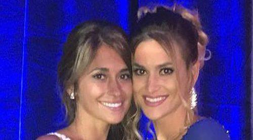 Las emotivas felicitaciones de los amigos de Antonella Roccuzzo y Leo Messi: