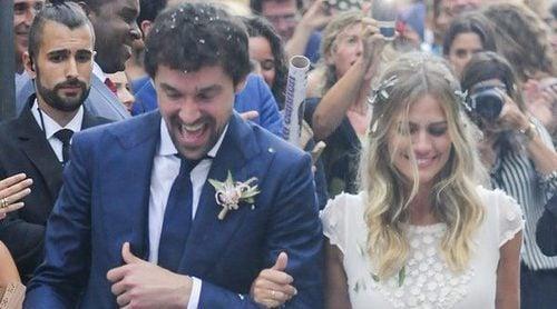 Helen Lindes y Rudy Fernández, invitados de lujo en la boda de Sergio Llul y Almudena Cánovas