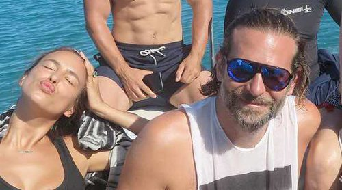 Las vacaciones en el paraíso de Irina Shayk y Bradley Cooper sin su hija Lea