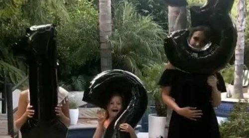 El boomerang con el que Jessica Alba ha confirmado su tercer embarazo