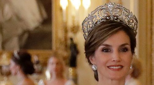 Kate Middleton, escondida para no eclipsar a la Reina Letizia en la cena de gala que ofreció la Reina Isabel