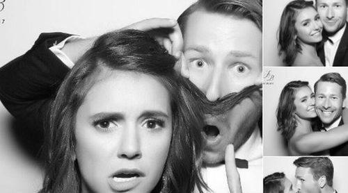 Nina Dobrev y Glen Powell confirman su relación con unas románticas fotografías