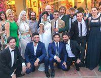 La divertida boda de Canco Rodríguez y Marta Nogal rodeados de amigos