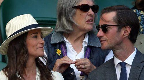 Pippa Middleton y James Matthews disfrutan de Wimbledon entre sonrisas, complicidad y aplausos