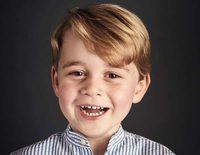 La sonrisa pícara con la que el Príncipe Jorge ha celebrado su cuarto cumpleaños