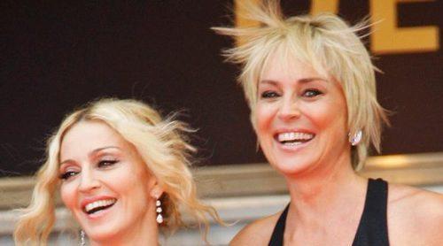 Sharon Stone responde a Madonna después de que la llamara 'mediocre' y antepone su amistad