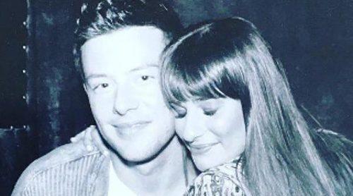 Lea Michele sigue recordando a Cory Monteith tras cuatro años de su trágica muerte por sobredosis
