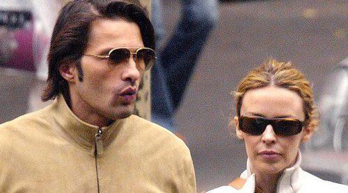 Kylie Minogue y Olivier Martínez tienen una cita diez años después de acabar su relación