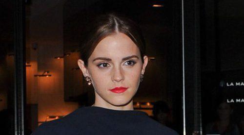 Emma Watson pide ayuda a sus fans para encontrar un anillo que se le olvidó en un spa