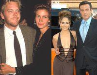 Diez famosos que rompieron con sus parejas antes de casarse