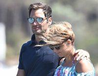 Roger Federer se lo pasa en grande en Cerdeña junto a su mujer y sus cuatro hijos