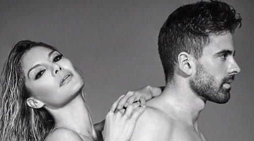 Pura sensualidad: El posado más sexy de Ivonne Reyes y Sergio Ayala presumiendo de amor