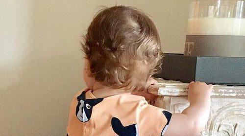 El orgullo de Sara Carbonero: su hijo Lucas Casillas ya camina