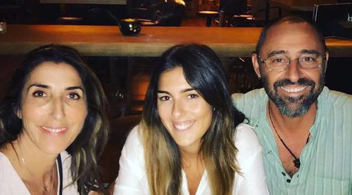 Paz Padilla presume de lo bien que se lleva con Albert Ferrer, su exmarido