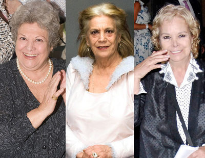 Así eran y así se llevaban Emma Penella, Elisa Montés y Terele Pávez: tres hermanas de cine