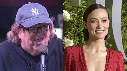 Lady Gaga, Rihanna, Olivia Wilde, Mark Ruffalo y Michel Moore unen fuerzas contra Donald Trump y su ideología