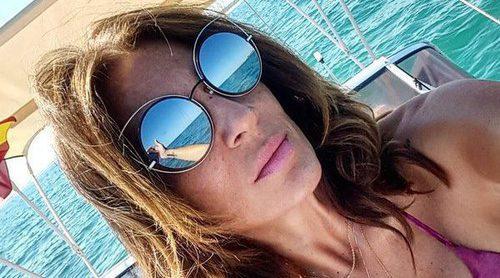 Raquel Bollo luce tipazo durante sus vacaciones en alta mar