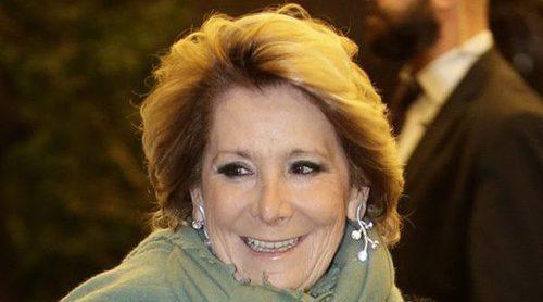 Esperanza Aguirre se olvida de la política y disfruta como una jubilada más