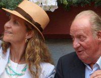 El Rey Juan Carlos, la Infanta Elena, Froilán y Victoria: menú de lujo y corrida de toros en San Sebastián
