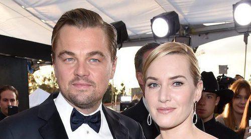 Kate Winslet y Leonardo DiCaprio disfrutan juntos de un día de piscina en Francia