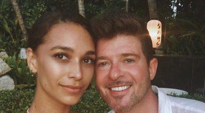 Robin Thicke y April Love Geary esperan su primer hijo en común