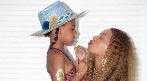 Blue Ivy Carter, hija de Beyoncé y Jay-Z, la mejor niñera para sus hermanos mellizos