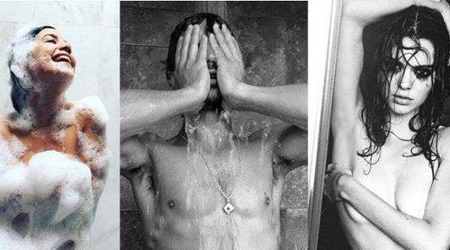 Chino Darín, Selena Gomez y otros famosos que posan de lo más sexy en la ducha