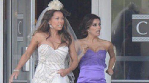 Vanessa Williams y Eva Longoria ruedan el último capítulo de 'Mujeres desesperadas'