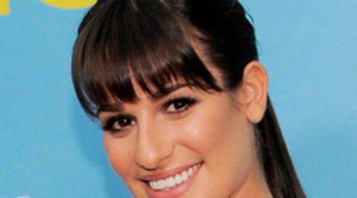 Lea Michele, Heather Morris, Chris Colfer y Jane Lynch: los actores de 'Glee' se van de fiesta