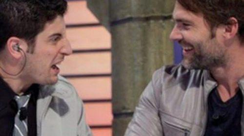 Jason Biggs y Seann William Scott, actores de 'American Pie', revolucionan el plató de 'El Homiguero'