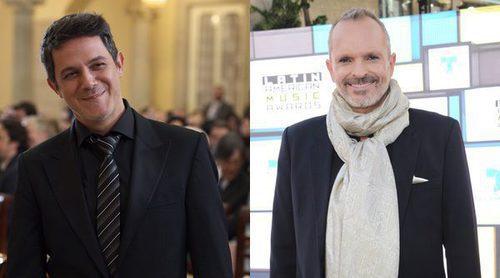 Miguel Bosé y Alejandro Sanz se ponen nostálgicos recordando su juventud