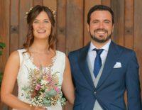 La romántica boda de Alberto Garzón y Anna Ruiz en unas bodegas de La Rioja