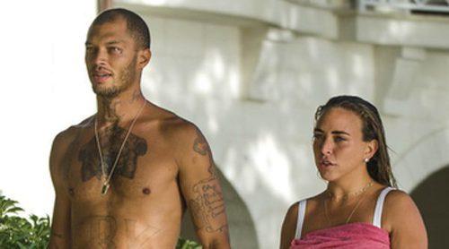 Rumores de boda entre Jeremy Meeks y la heredera de Topshop Chloe Green