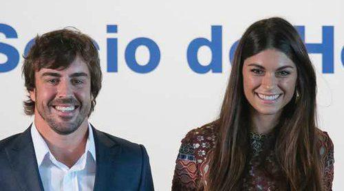 El primer posado público de Fernando Alonso con Linda Morselli