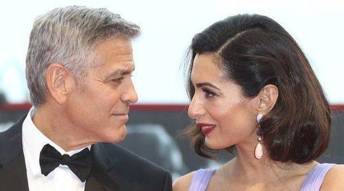 Amal Alamuddin eclipsa a George Clooney en el Festival de Venecia 2017