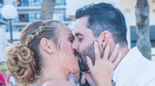 Las imágenes más tiernas de la boda de Yoli y Jonathan ('GH15'): Así disfrutaron los Gurrus del gran día