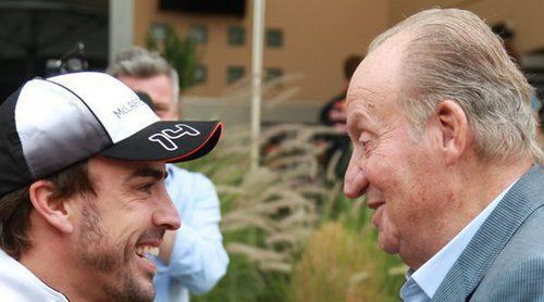 La promesa de Fernando Alonso al Rey Juan Carlos tras su alocada anécdota en Montmeló