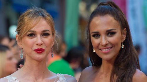 Las 'chicas Velvet' Paula Echevarría, Andrea Duro y Marta Hazas deslumbran en el FesTVal 2017 de Vitoria