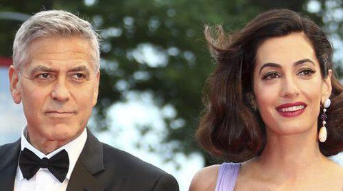 George Clooney cuenta cómo son sus mellizos y el porqué de sus nombres