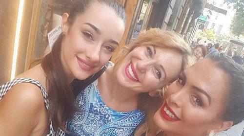 Ania Iglesias, Amor Romeira y Adara Molinero, tres grandes amigas y tres 'grandes hermanas'