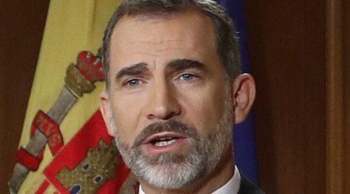 Marta Gayá se escondió del Rey Felipe en la boda de Martina Jáudenes y Luis Abascal