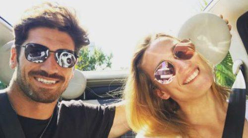 Mireia Belmonte y Javier Hernanz celebran su tercer aniversario en Ibiza