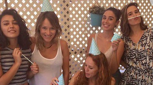 Así ha sido el reencuentro de las actrices de 'Seis hermanas'