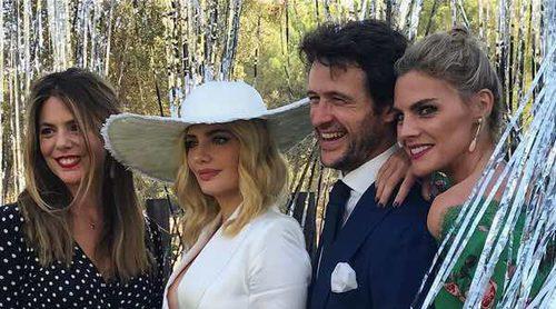 Miriam Giovanelli reúne al 'eje del mal' de 'Velvet' en su boda con Xabi Ortega
