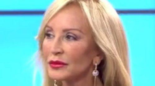 Carmen Lomana y Toño Sanchís unen fuerzas contra Belén Esteban: 'Es una mentirosa, que me pague'