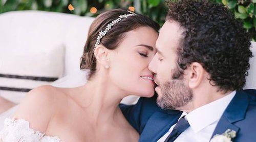 Así ha sido la romántica boda de Idina Menzel con Aaron Lohr