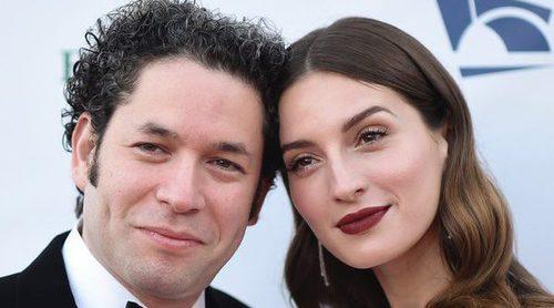 María Valverde y Gustavo Dudamel, todo amor en la gala inaugural de la Filarmónica de Los Angeles