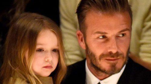 David Beckham inculca a su hija Harper Seven su pasión por el fútbol